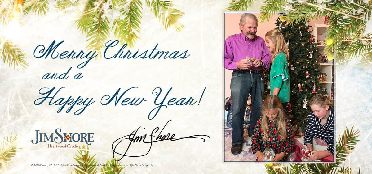 Merry Christmas from Jim Shore Designs