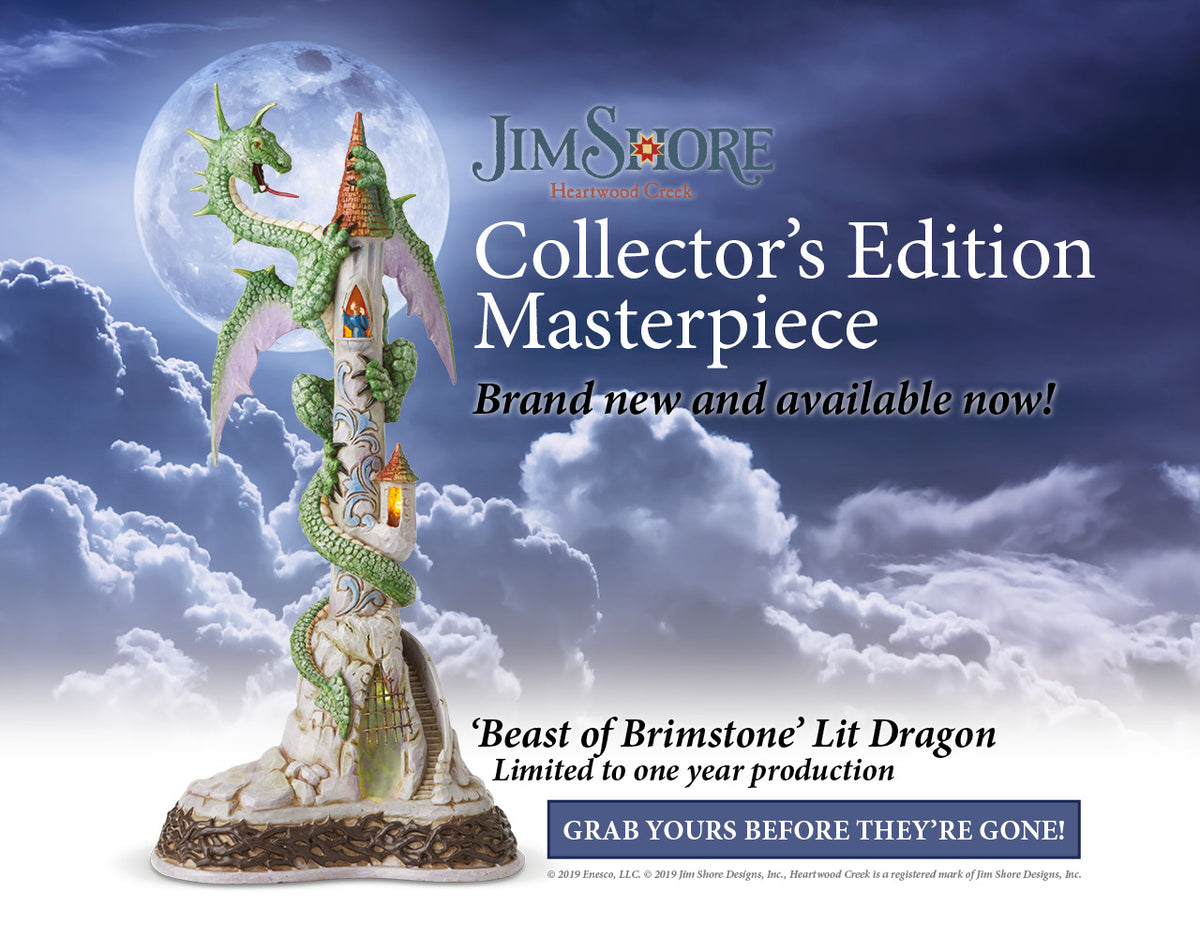 Jim Shore Collector's Edition Masterpiece | Beast of Brimstone