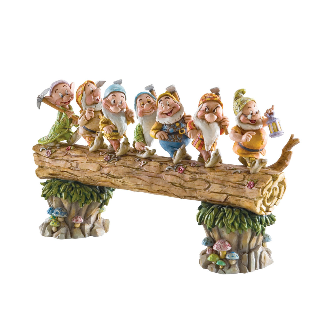 Disney Traditions by Jim Shore Homeward Bound - Seven Dwarfs Figurine