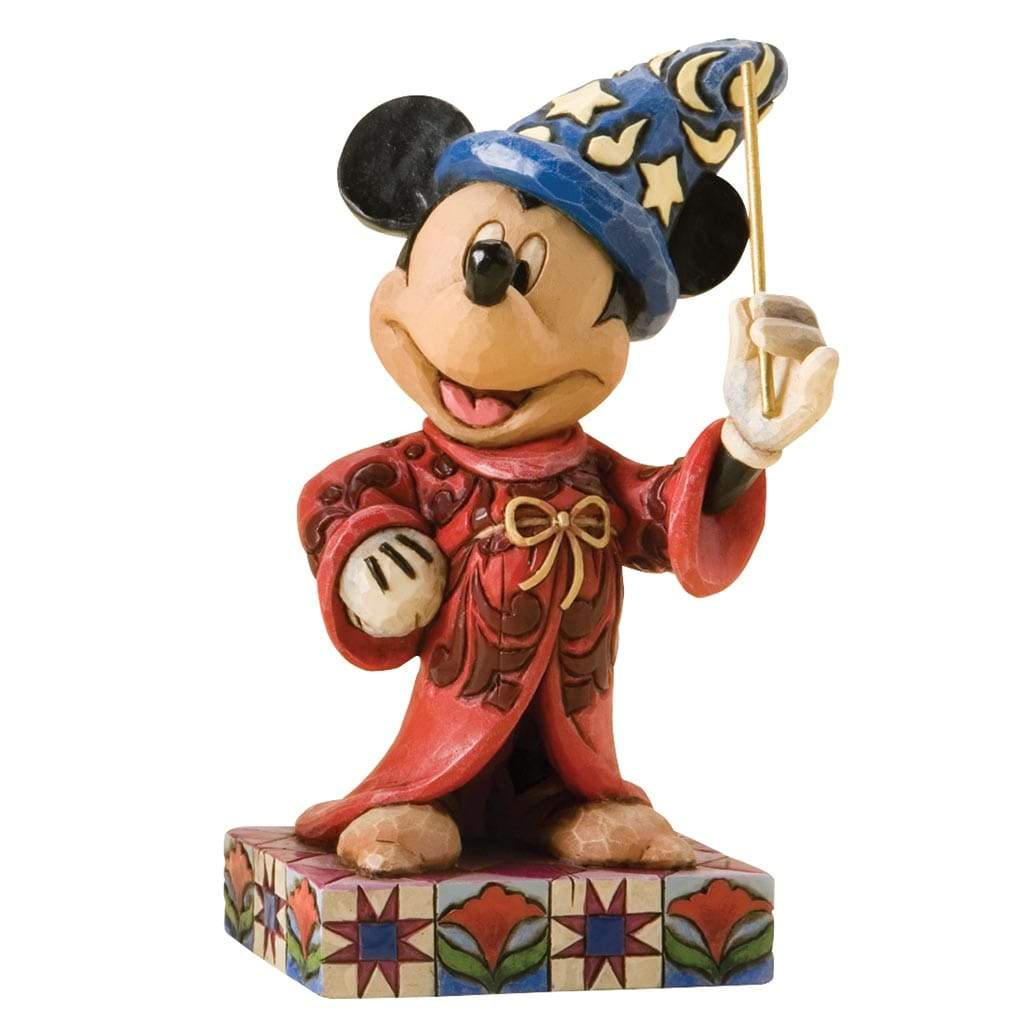 Disney Traditions by Jim Shore Touch of Magic - Mickey Mouse Figurine - Website Exclusive