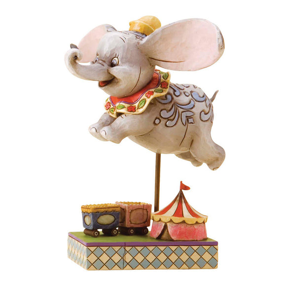 Faith in Flight - Dumbo Figurine - Disney Traditions by Jim Shore