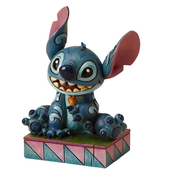 Ohana Means Family - Stitch Figurine - Disney Traditions by Jim Shore