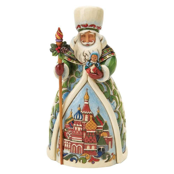 Grandfather Frost - Russian Santa Figurine - Heartwood Creek by Jim Shore