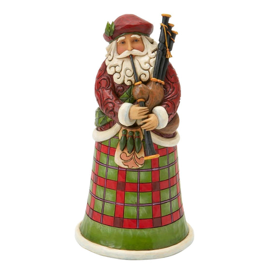 Scottish Santa Figurine - Website Exclusive