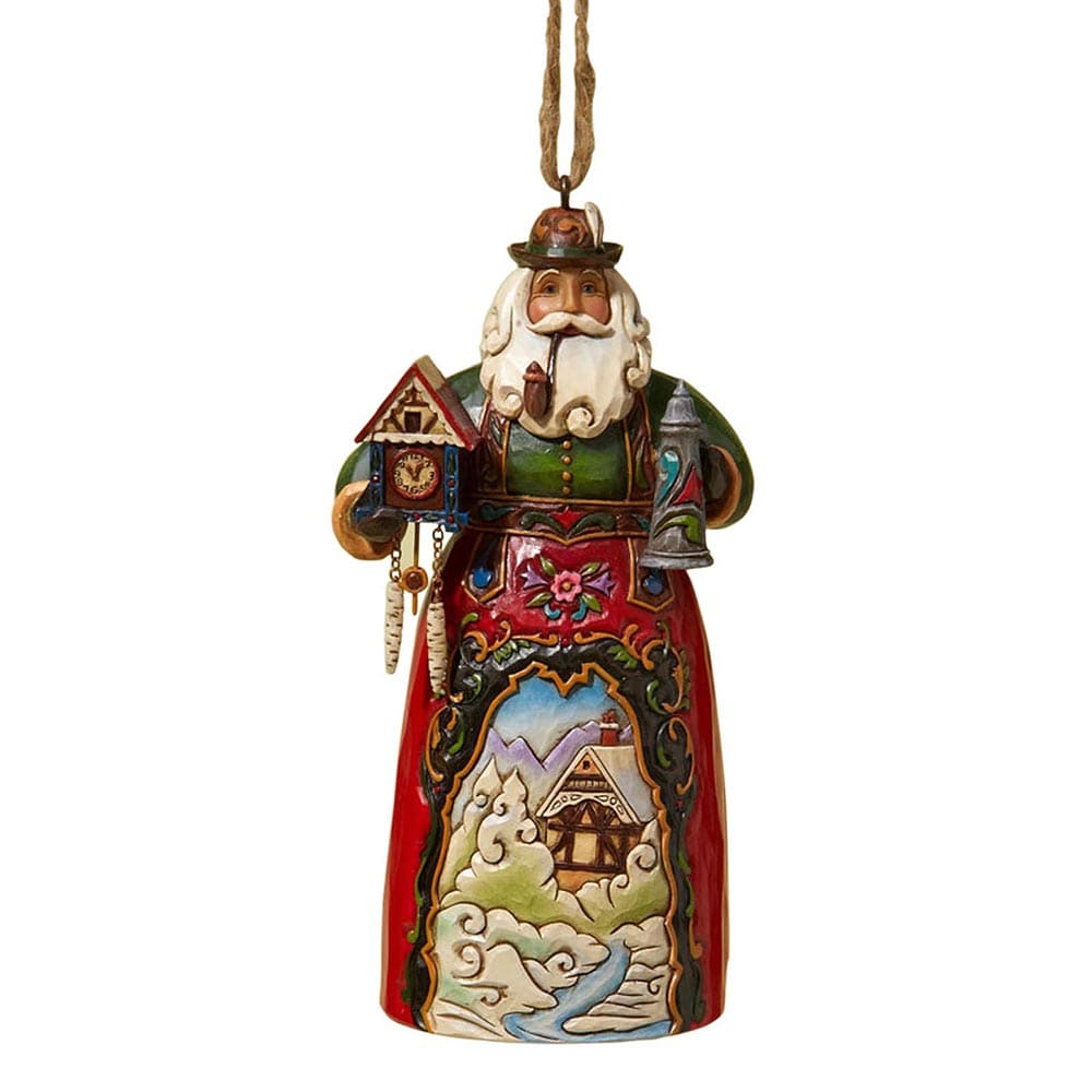 German Santa hanging ornament — website exclusive