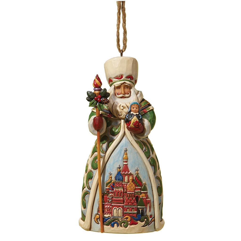 Heartwood Creek by Jim Shore Russian Santa - Hanging Ornament