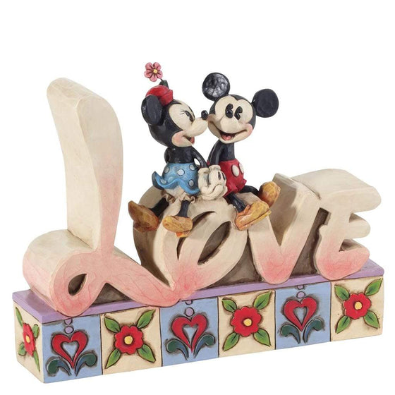 Disney Traditions by Jim Shore Love - Mickey & Minnie Figurine - Website Exclusive