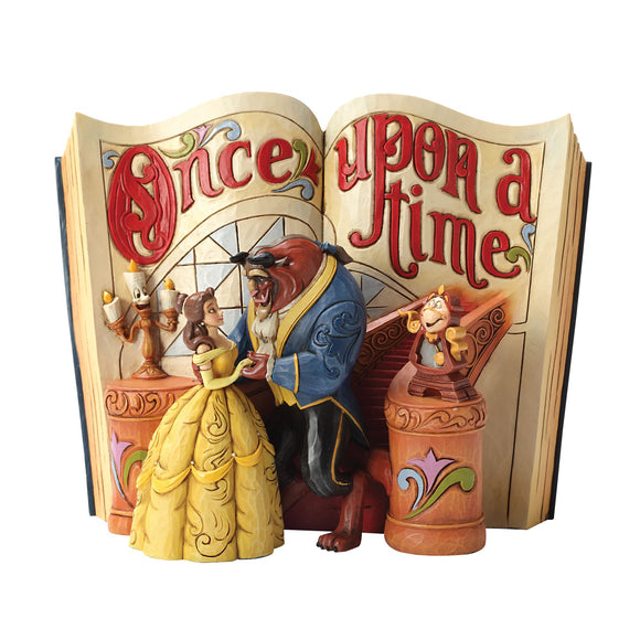 Love Endures - Beauty and The Beast Storybook Figurine - Disney Traditions by Jim Shore