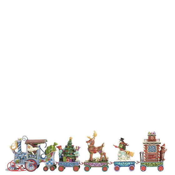 Heartwood Creek by Jim Shore Mini Holiday Express 5 Pc Set