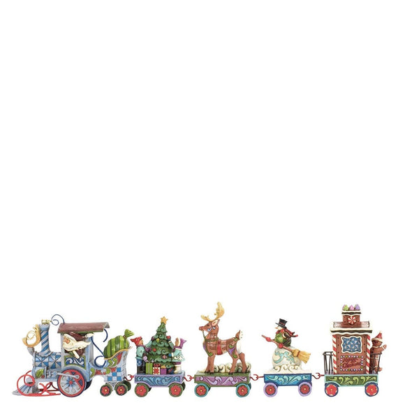 Heartwood Creek by Jim Shore The North Star Express (Holiday express train 5 piece set)