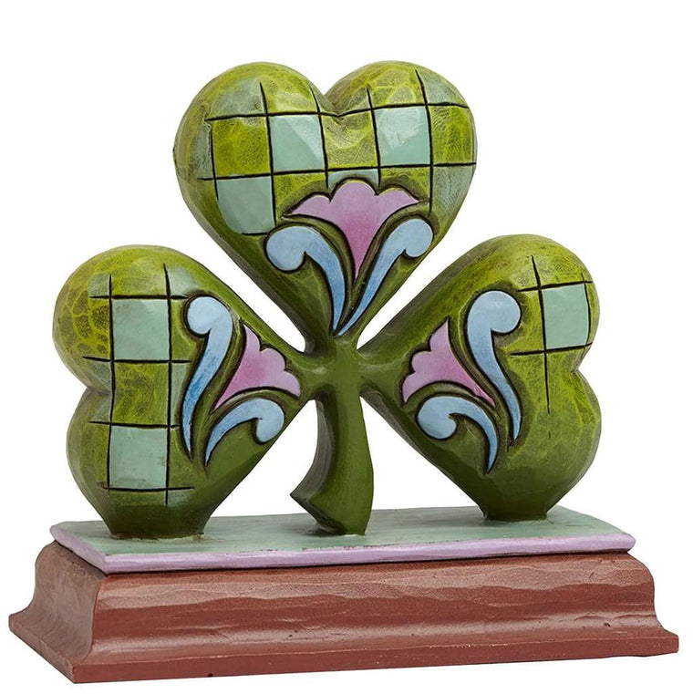 Heartwood Creek by Jim Shore Shamrock Mini Figurine