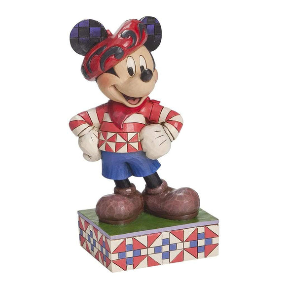 Greetings from France - Mickey Mouse Figurine - Disney Traditions by Jim Shore