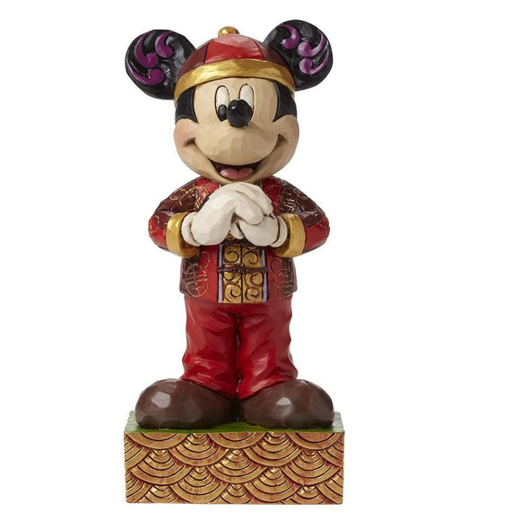 Disney Traditions by Jim Shore Greetings From China Mickey Figurine - Website Exclusive