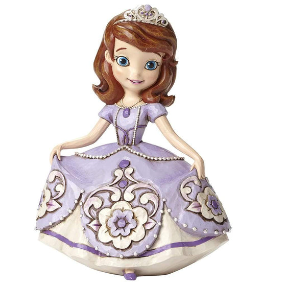 Disney Traditions by Jim Shore New Girl in Crown - Princess Sofia The First Figurine - Website Exclusive