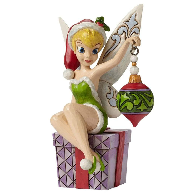 Disney Traditions by Jim Shore Spirit of the Season - Tinker Bell Figurine - Website Exclusive