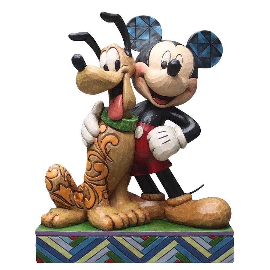 Best Pals - Mickey Mouse & Pluto Figurine - Disney Traditions by Jim Shore