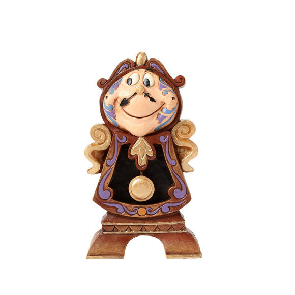 Keeping Watch - Cogsworth Figurine - Disney Traditions by Jim Shore