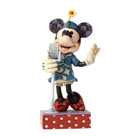 Disney Traditions Jim Shore Sweet Harmony - Minnie Mouse Figurine - UK & Eire Website Exclusive