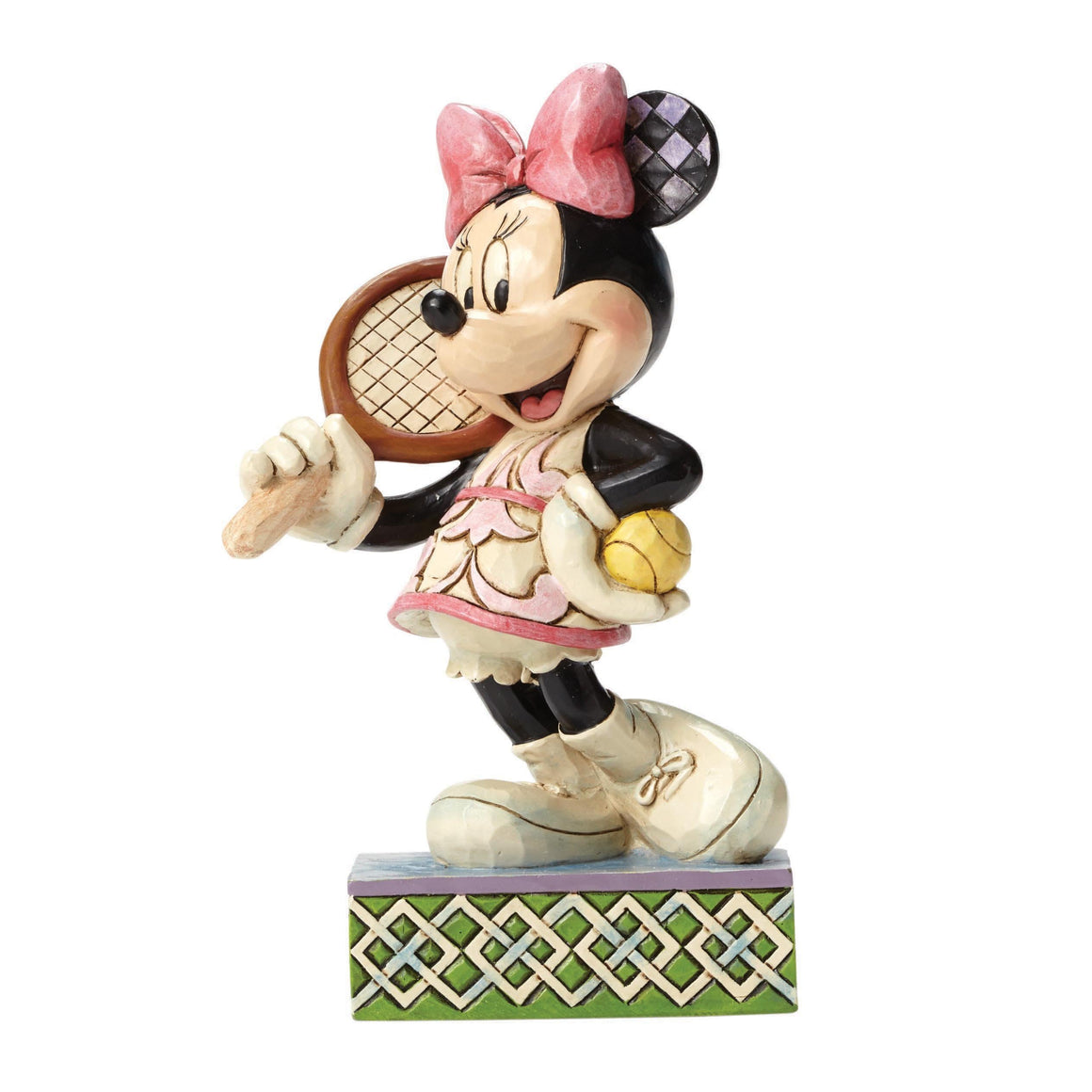Disney Traditions by Jim Shore Tennis, Anyone? - Minnie Mouse Figurine - Website Exclusive