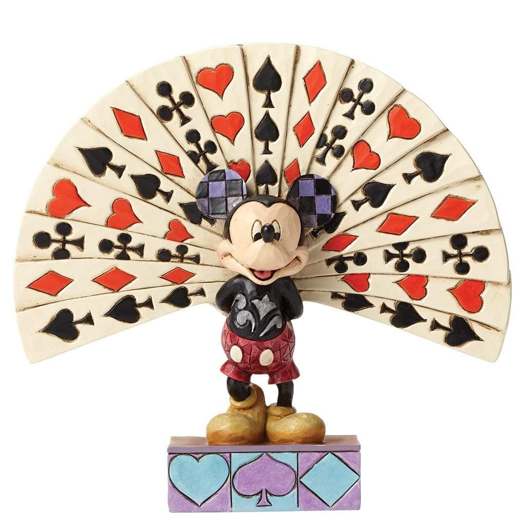 Disney Traditions by Jim Shore All Decked Out - Mickey Mouse Figurine - Website Exclusive