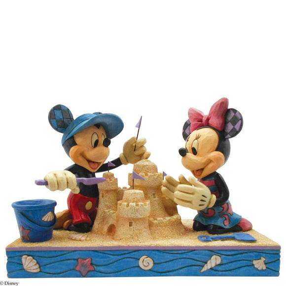Disney Traditions Seaside Sweethearts - Mickey & Minnie Mouse Figurine