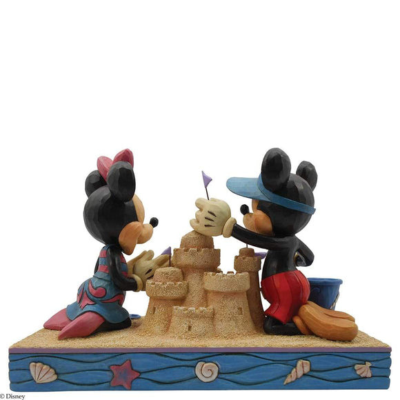 Seaside Sweethearts - Mickey & Minnie -Disney Traditions by Jim Shore