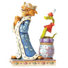 Disney Traditions by Jim Shore Royal Pains - Prince John & Sir Hiss Figurine