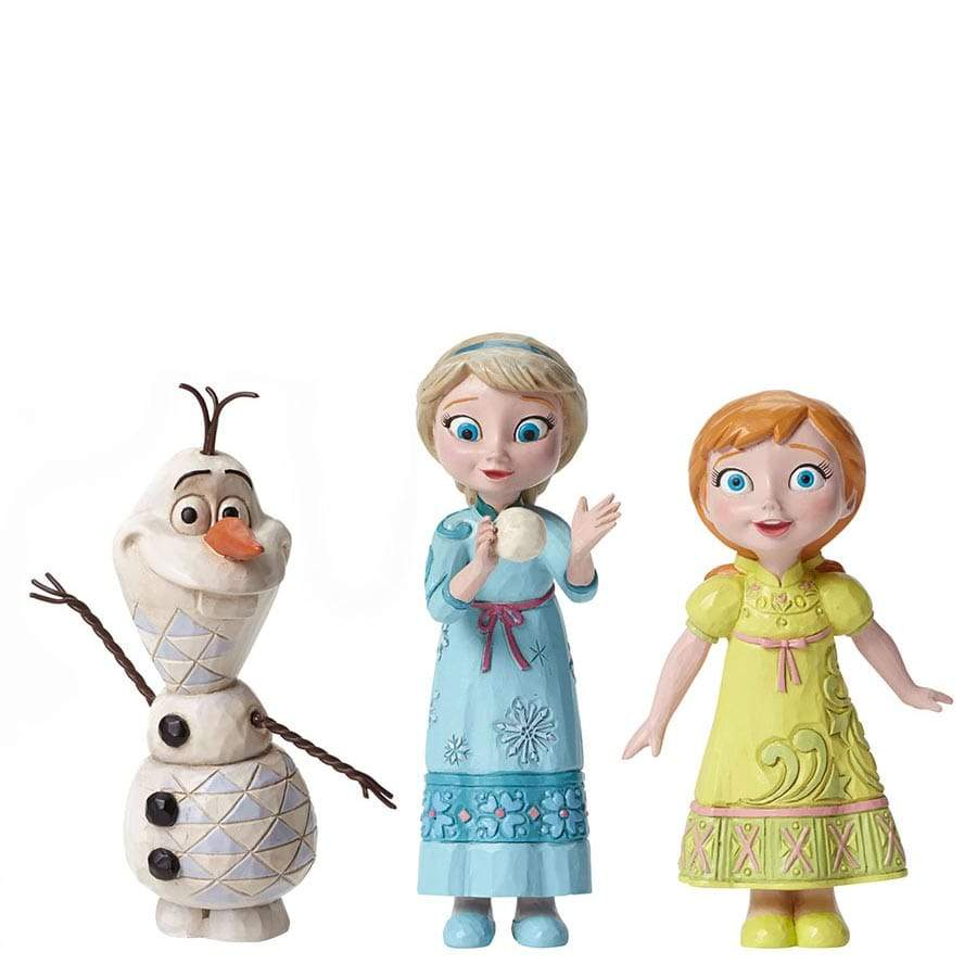 Disney Traditions by Jim Shore Frozen Figurine Set - Website Exclusive