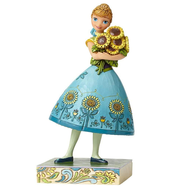 Disney Traditions by Jim Shore Spring in Bloom - Anna Figurine