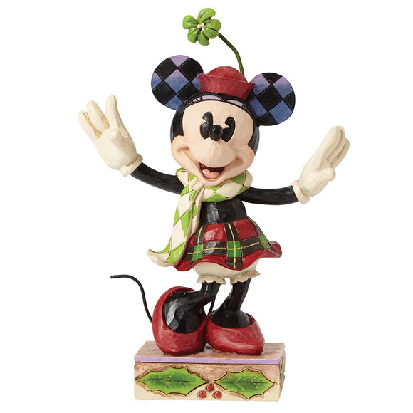 Disney Traditions by Jim Shore Merry Minnie Mouse Figurine