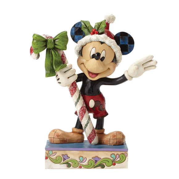 Disney Traditions by Jim Shore Sweet Greetings - Mickey Mouse Figurine
