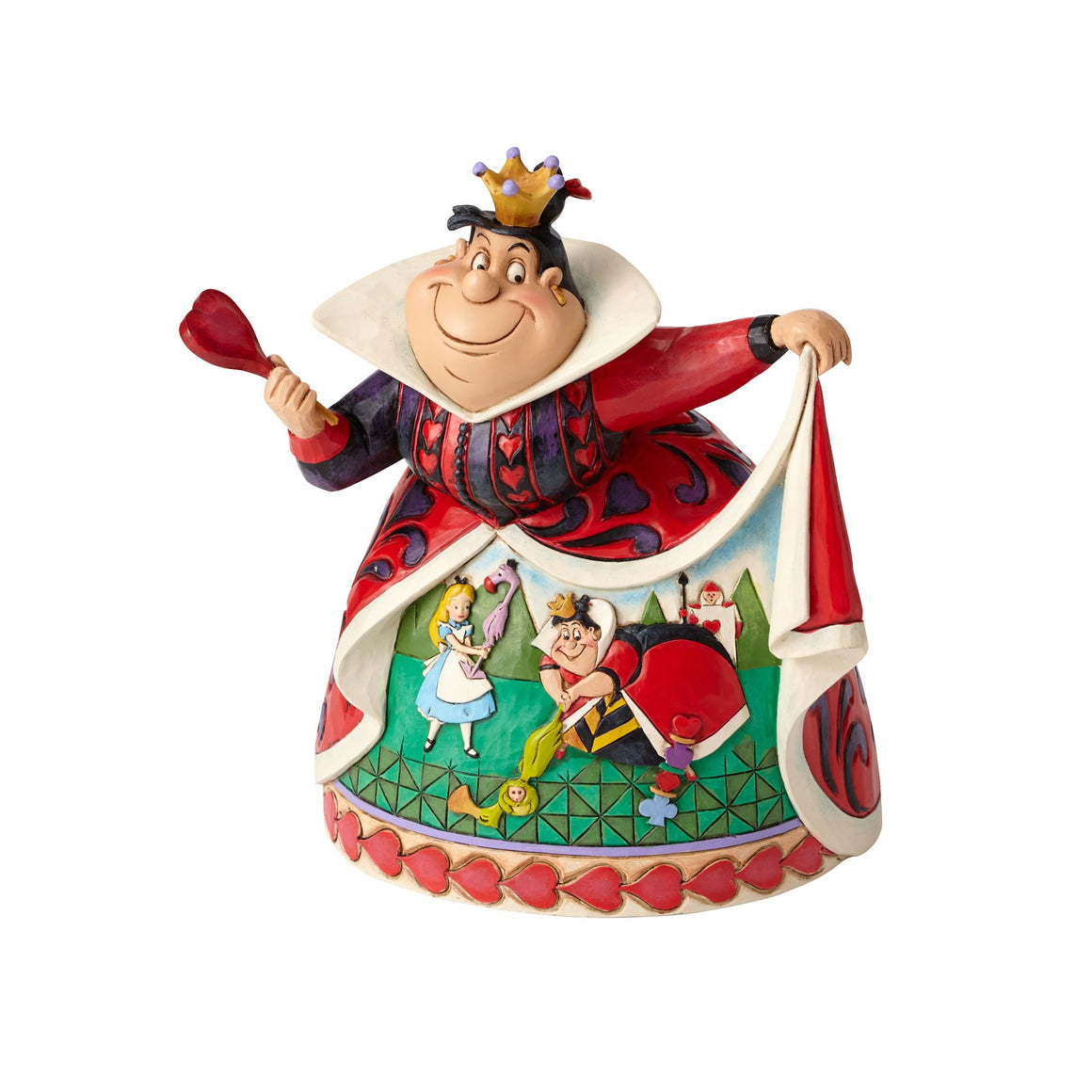 Disney Traditions by Jim Shore Royal Recreation - Queen of Hearts 65th Anniversary Piece
