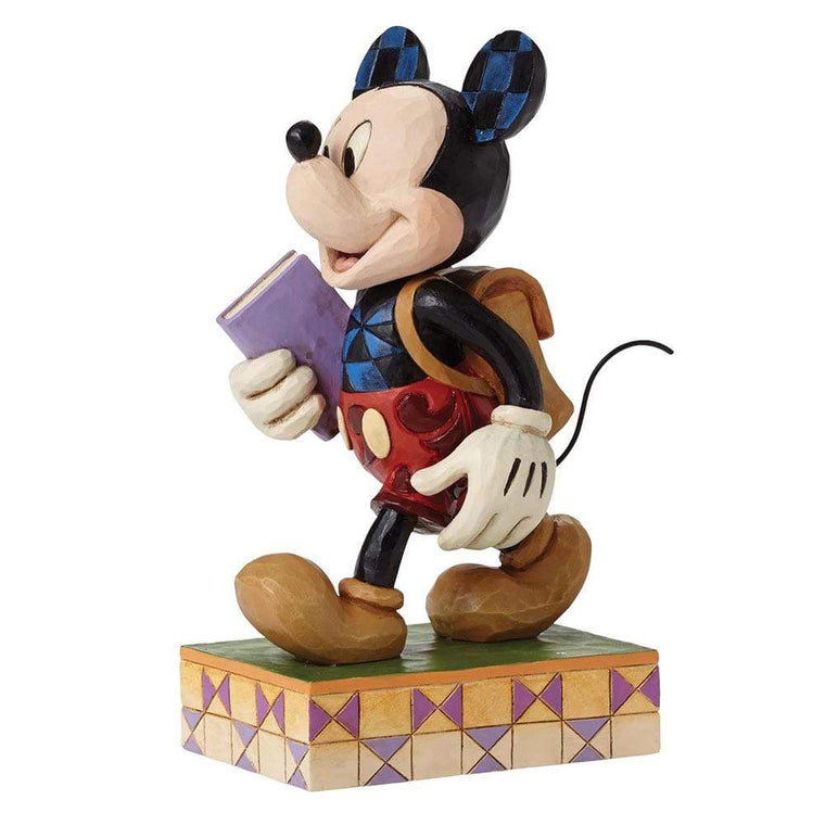 Disney Traditions by Jim Shore Eager to Learn - Mickey Mouse Figurine