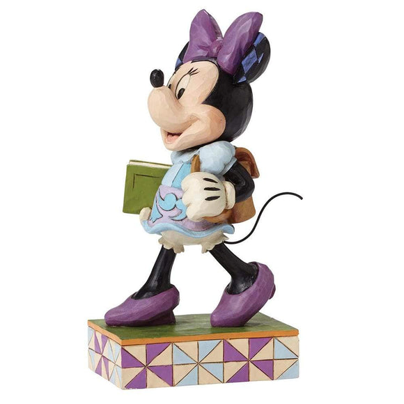 Disney Traditions by Jim Shore Top of the Class - Minnie Mouse Figurine - Website Exclusive