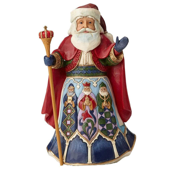 Heartwood Creek by Jim Shore Spanish Santa Figurine