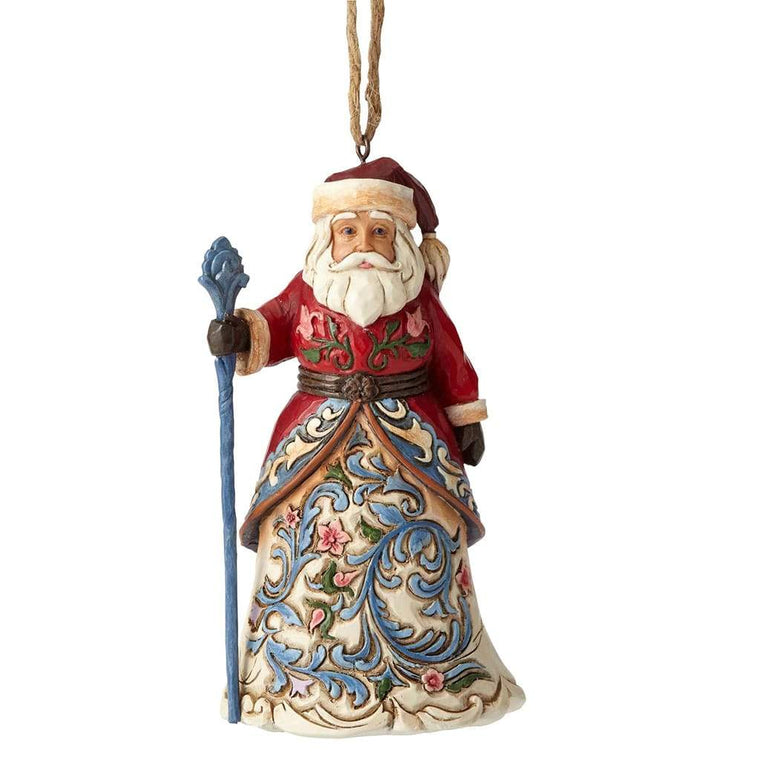Norwegian Santa - Hanging Ornament - Heartwood Creek by Jim Shore