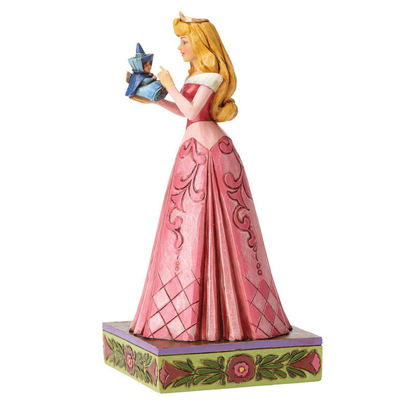 Disney Traditions by Jim Shore Wonder and Wisdom - Aurora with Fairy Figurine