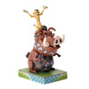 Carefree Cohorts - Timon and Pumbaa Figurine - Disney Traditions by Jim Shore