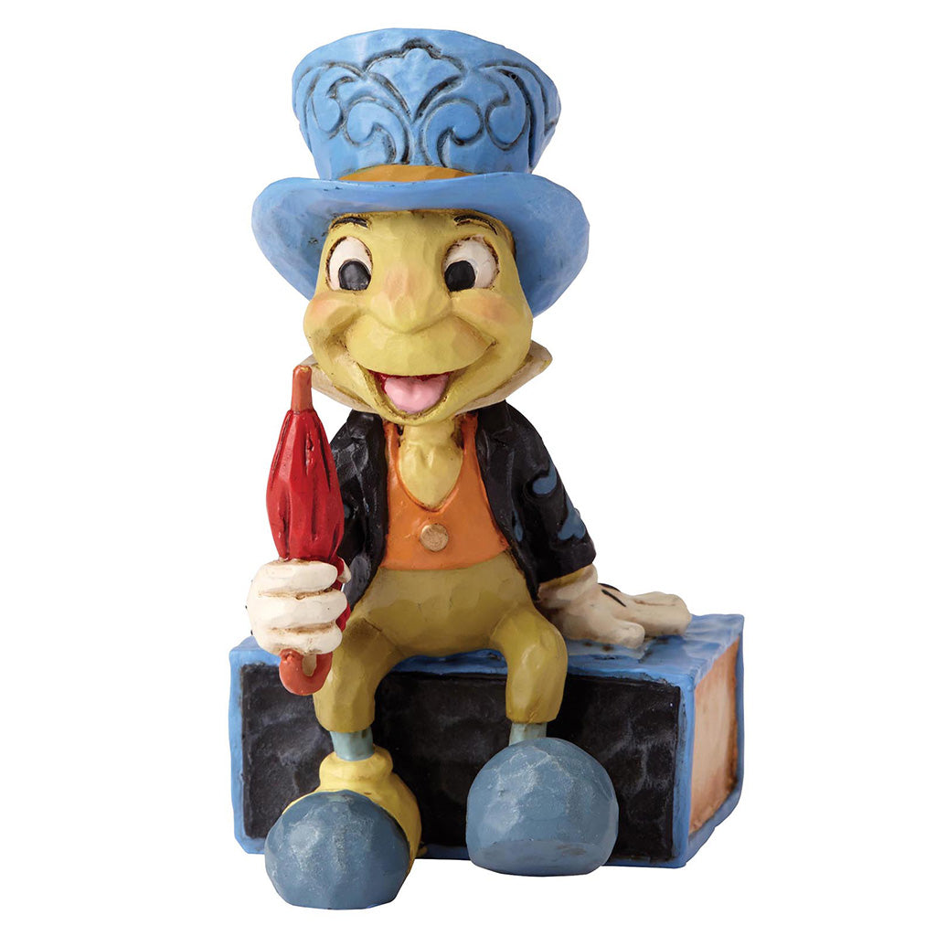 Jiminy Cricket on Match Box Mini Figurine - Disney Traditions by Jim Shore