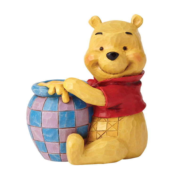 Disney Traditions by Jim Shore Winnie the Pooh with Honey Pot Mini Figurine