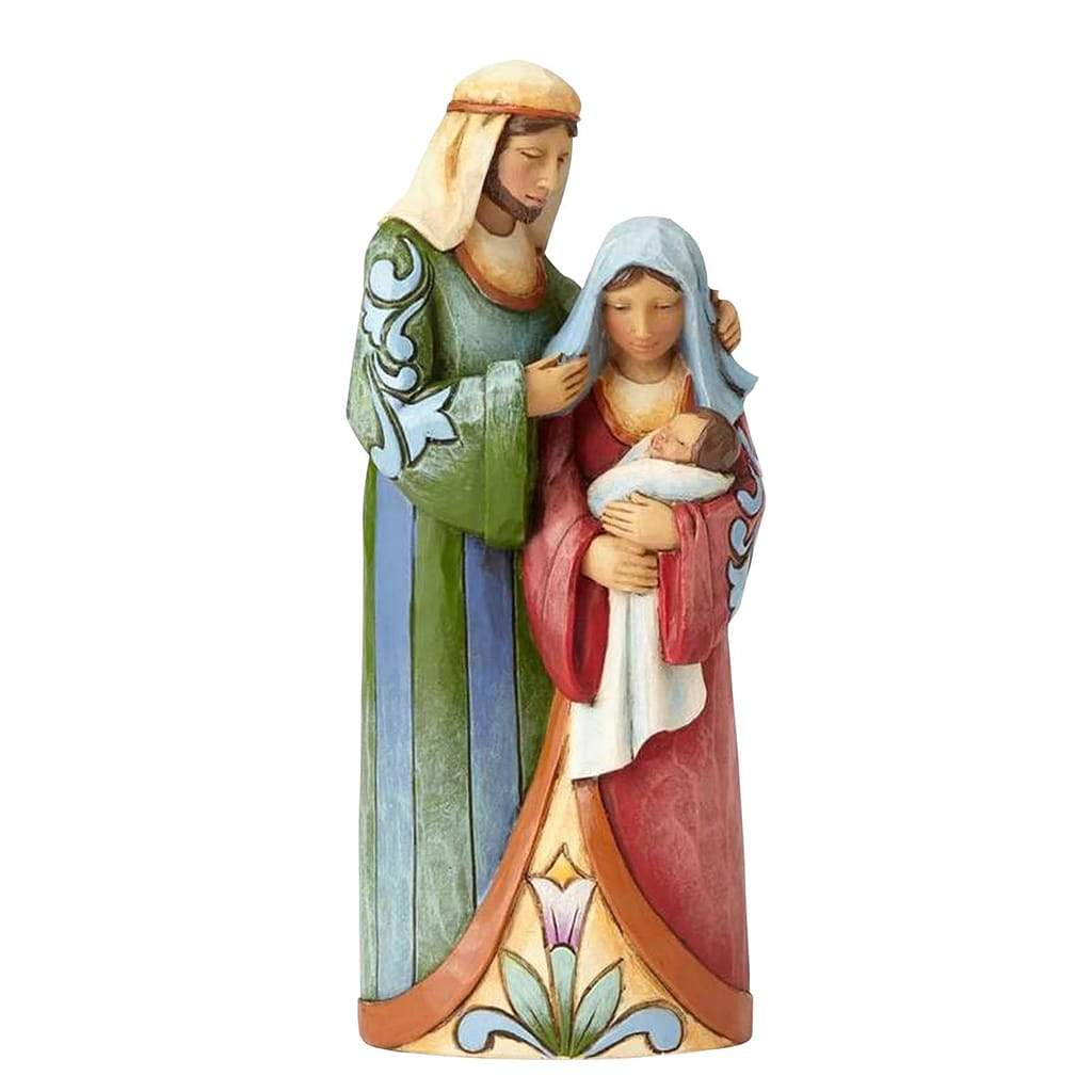 Heartwood Creek by Jim Shore One Piece Holy Family Figurine - Website Exclusive
