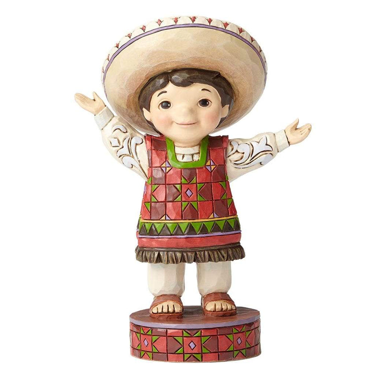 Disney Traditions by Jim Shore Welcome To Mexico Figurine