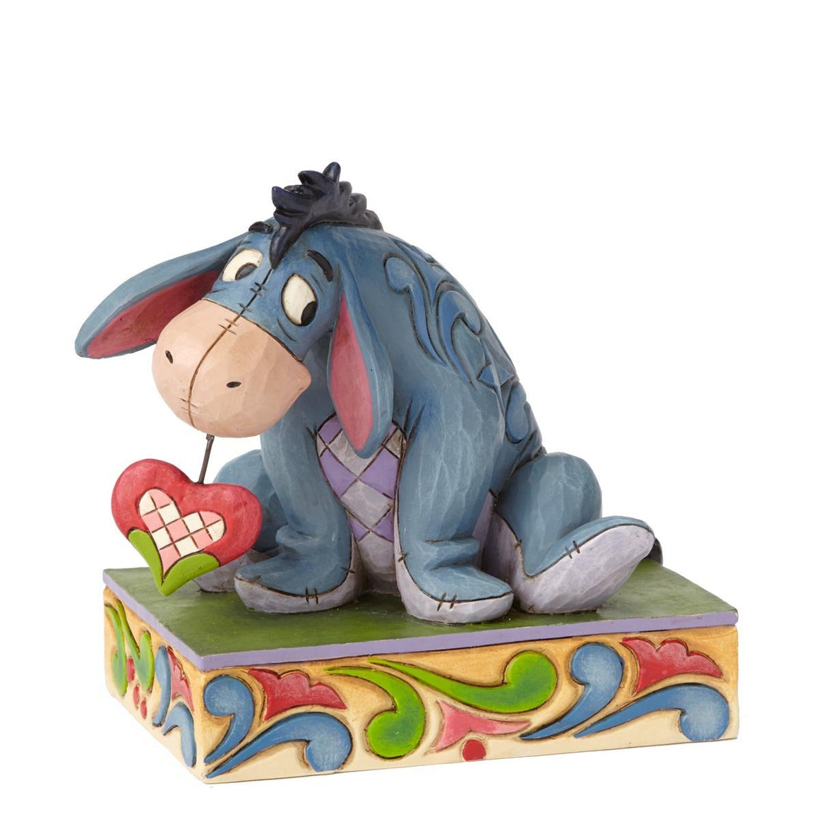 Heart on a String - Eeyore Figurine - Disney Traditions by Jim Shore