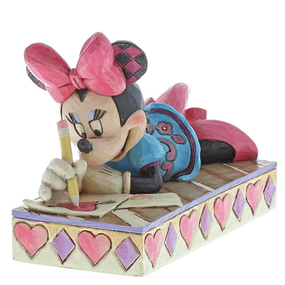 Disney Traditions by Jim Shore XOXO Minnie Figurine - Website Exclusive