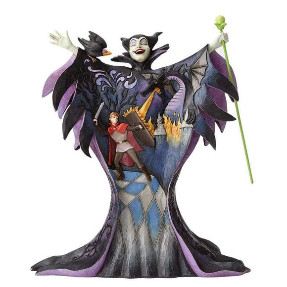 Disney Traditions by Jim Shore Malevolent Madness - Maleficent Figurine - UK & Eire Website Exclusive