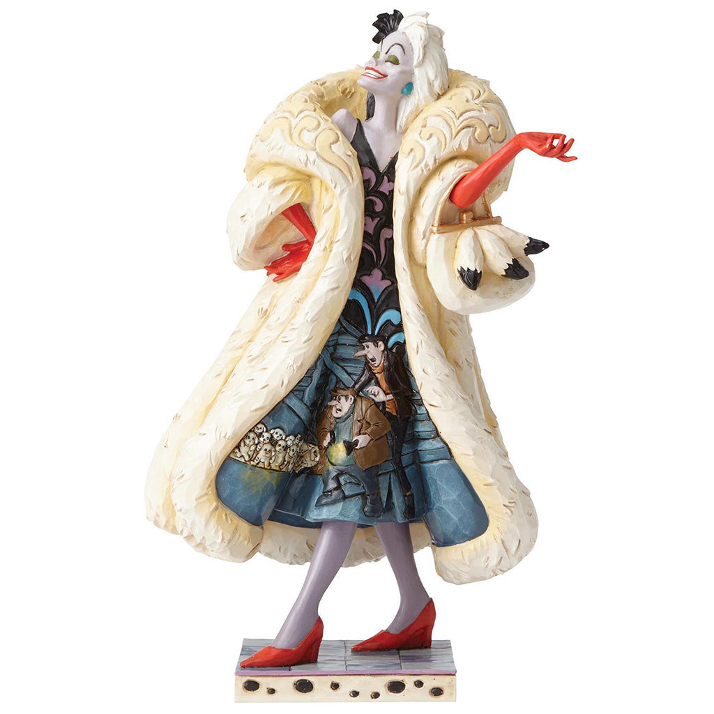 Disney Traditions by Jim Shore Devilish Dognapper - Cruella De Vil Figurine