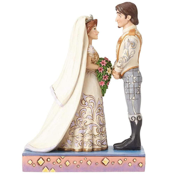 Disney Traditions by Jim Shore The Big Day - Rapunzel & Flynn Figurine - UK & Eire Website Exclusive