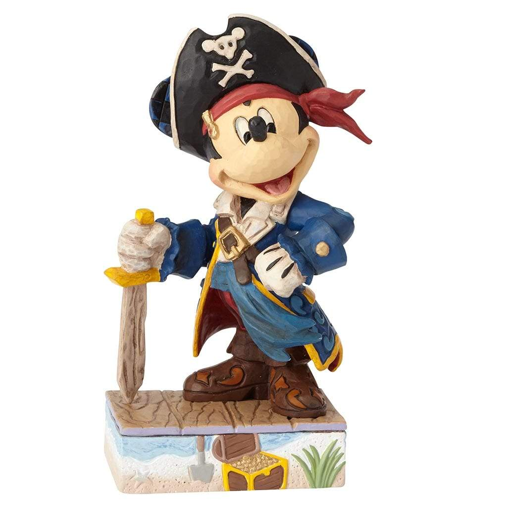 Disney Traditions by Jim Shore Set Sail For Adventure - Mickey Mouse Figurine - UK & Eire Website Exclusive