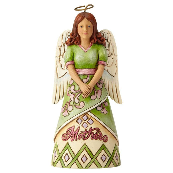Heartwood Creek By Jim Shore Mother Angel Pint-Sized Figurine - Website Exclusive