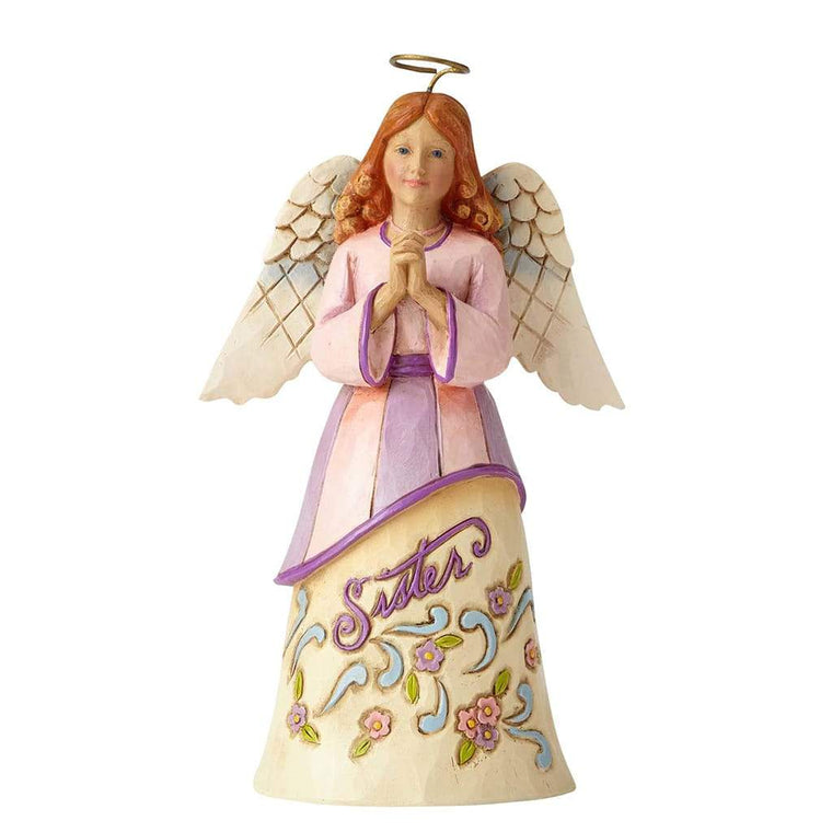 Heartwood Creek by Jim Shore Pint Sized Sister Angel Figurine - Website Exclusive